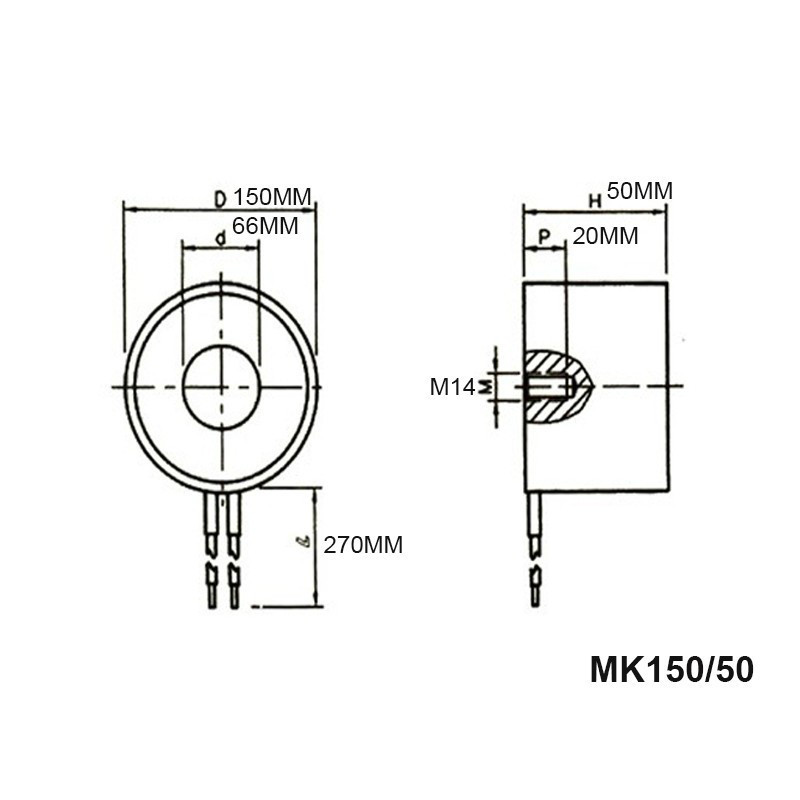 Купить с кэшбэком Holding Electric Magnets Lifting 300KG/3000N Mini Electromagnet Sucker DC12V 24V Imanes De Neodinio Aimant MKELE-P150/50