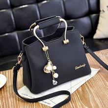 2019 High Quality Ladies Leather Handbag PU Ladies Bag Shoulder Bag Ladies Leather Messenger Bag Sweet Shoulder Bag цена и фото