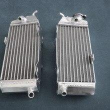Обувь по заводским ценам алюминиевый радиатор для Yamaha 1984-1985 YZ250 YZ 250 84 85