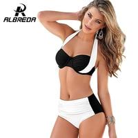 ALBREDA 2017 Sexy Cross Brazilian Bikinis Women Swimwear Push Up Women Large Size Swimsuit Summer Bikini