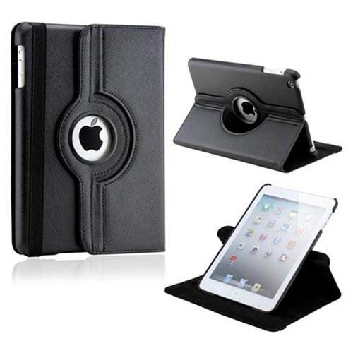 For iPad 2 iPad 3 iPad 4 Case 360 Rotating PU Leather Flip Stand Smart Case Cover for Funda iPad 2 3 4 Tablet Cape Cases+Pen multi function pu leather case vent holes sound amplifier for ipad 3 4 red