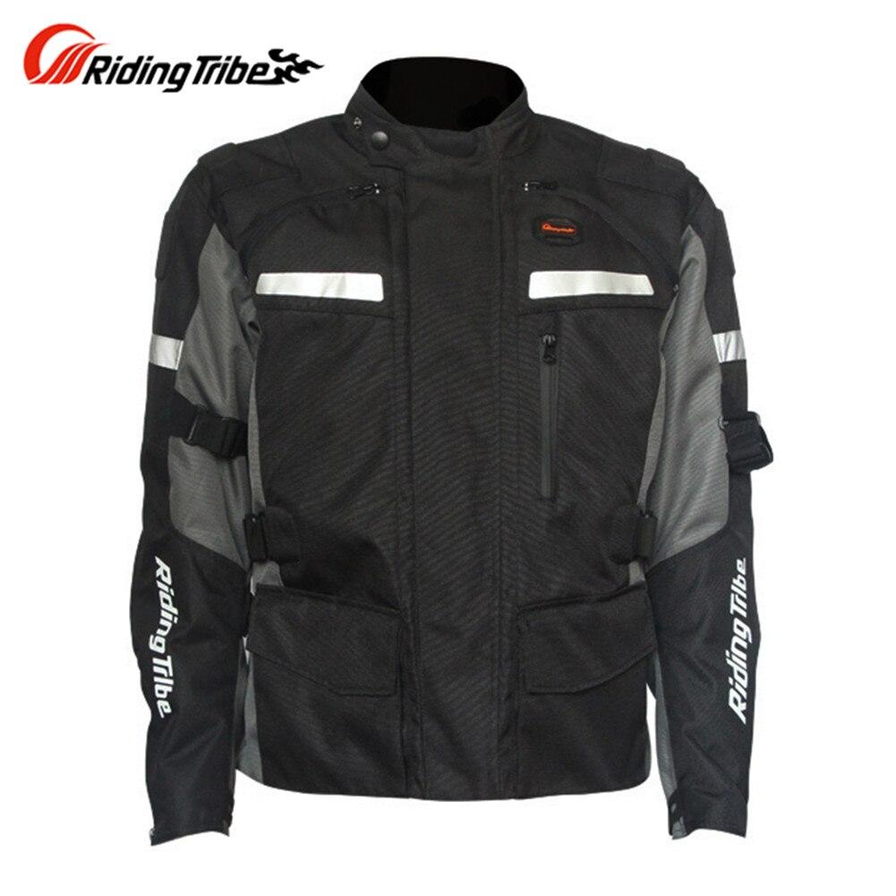 Зимняя мотоциклетная куртка путешествия Светоотражающие Protector Мотокросс Body Armor Защита Гонки JK4827 Одежда Защитная Шестерни