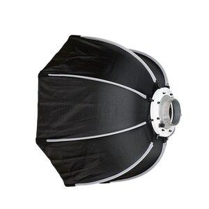 Image 3 - TRIOPO 120cm Octagon Softbox Diffusor Reflektor w/Bowens Montieren Licht Box für fotografie Studio Strobe Licht zubehör