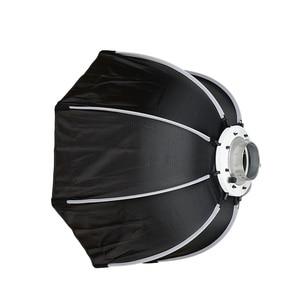 Image 3 - Triopo 120 Cm Octagon Softbox Diffuser Reflector W/Bowens Mount Lichtbak Voor Fotografie Studio Strobe Flash Light Accessoires