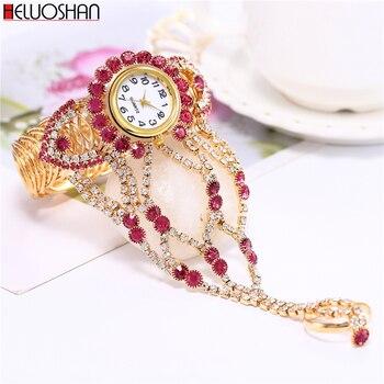 2021 Top Brand Luxury Clock Rhinestone Bracelet Watch Women Watches Ladies Wristwatch Relogio Feminino Reloj Mujer Montre Femme