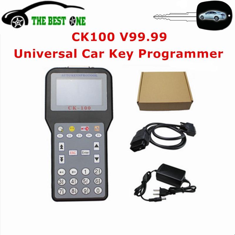 imágenes para Alta Calidad Actualización V99.99 CK-100 Auto Clave Programador Del SBB CK CK100 Programador Clave Para Los Coches Universales 100 Con 1024 tokens