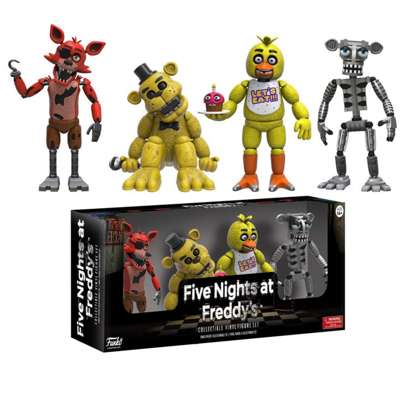Five Nights At Freddy s Action Figure Set Fnaf With Retail Box 5cm c8cc1f1bd01e7