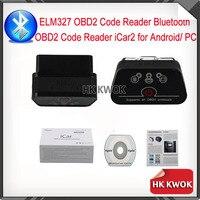 ELM 327 Vgate iCar 2 Bluetooth OBDII ELM327 OBD 2 סורק כלי אבחון ממשק עבור אנדרואיד