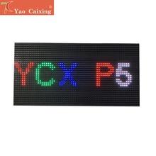 Ücretsiz kargo P5 kapalı rgb smd2121 siyah modülleri nokta matris led ekran panelleri sabit kurulum video duvar panosu