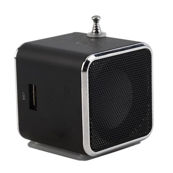 portable mini bluetooth speaker with sd card tf card support micro usb mp3/4 music player and fm radio