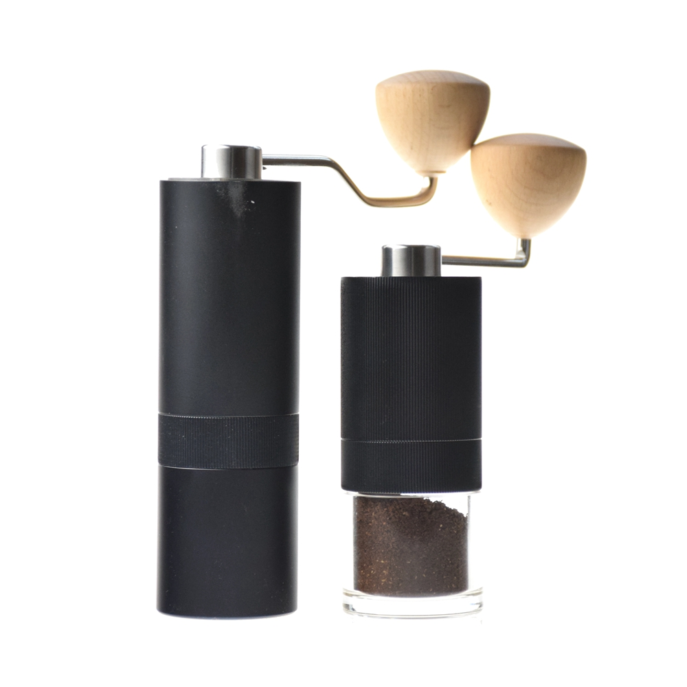 Alta Qualidade Moedor de Café Manual Portátil S136 15g Capacidade Pó do Feijão de Café Núcleo de Aço Inoxidável Corpo em Liga de Alumínio