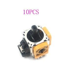 Image 1 - 10 pçs amarelo original 3d joystick eixo modulo sensore analogico para playstation 4 ps4 controlador