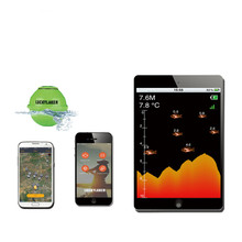 Free Shipping!Lucky FF916 Sonar Wireless WIFI Fish Finder 50M/130ft Sea Fish Detect Finder fishing sonar Android IOS