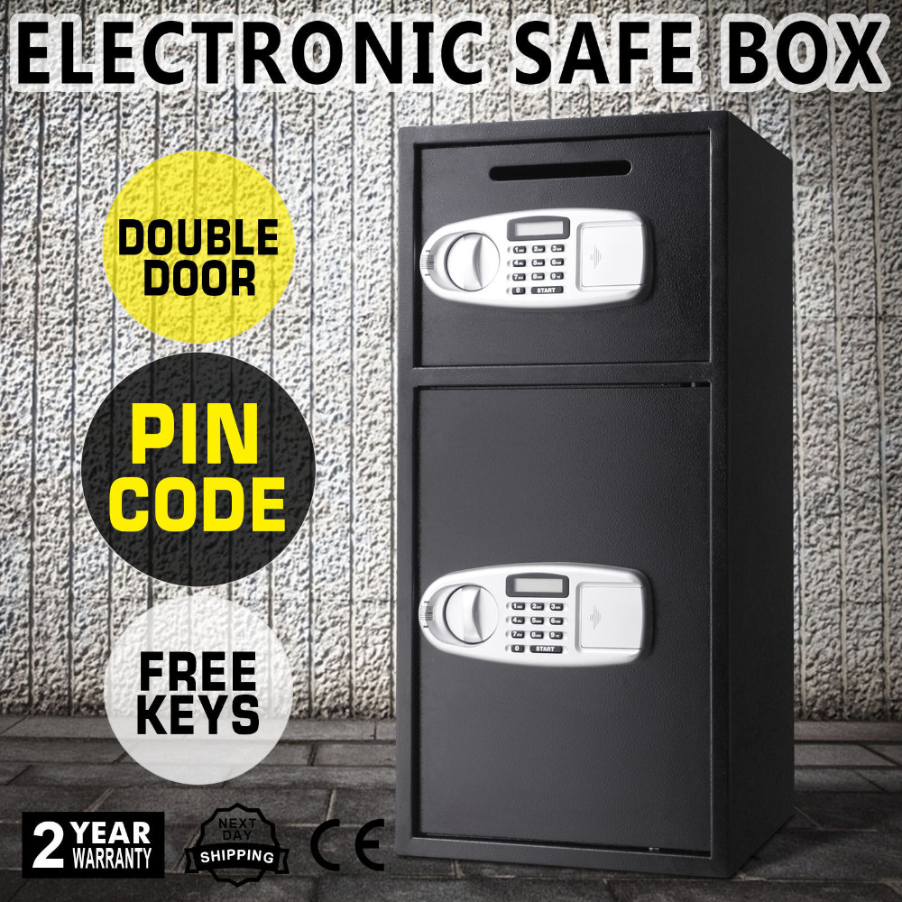 Large Safe Steel Electronic Digital High Security Home Office Money Safety Security Programmable Programmable Electronic Lock