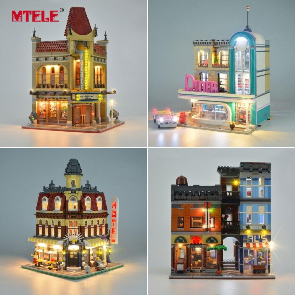 Image 5 - MTELE Luce Kit SOLO Per Creator Compatibile Con Lego  10182/10224/10211/10260/10243/10246  /10218/71040/10251/10264/10255/10232-in Blocchi da Giocattoli e hobby su