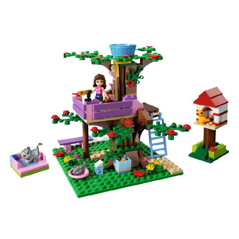 193pcs/set 10158 Girls Olivias Tree House Girls Friends Building Blocks Bricks Toys Compatible with Legoe193pcs/set 10158 Girls Olivias Tree House Girls Friends Building Blocks Bricks Toys Compatible with Legoe