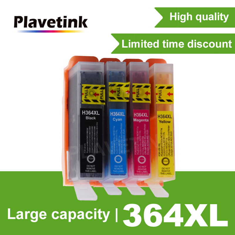 4pcs ink cartridge compatible for HP364 364 XL for hp 3070A