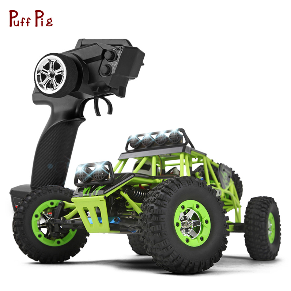 RC Car 2.4G 1/12 4WD Crawler 1:12 Remote Control Car Electric 4WD Climbing 50KM/H High speed RC Drift Truck Buggy With LED Light new 7 2v 16v 320a high voltage esc brushed speed controller rc car truck buggy boat hot selling