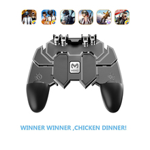 Portable Mobile Gamepad Grip Pugb Controller Fire Buttons Tr
