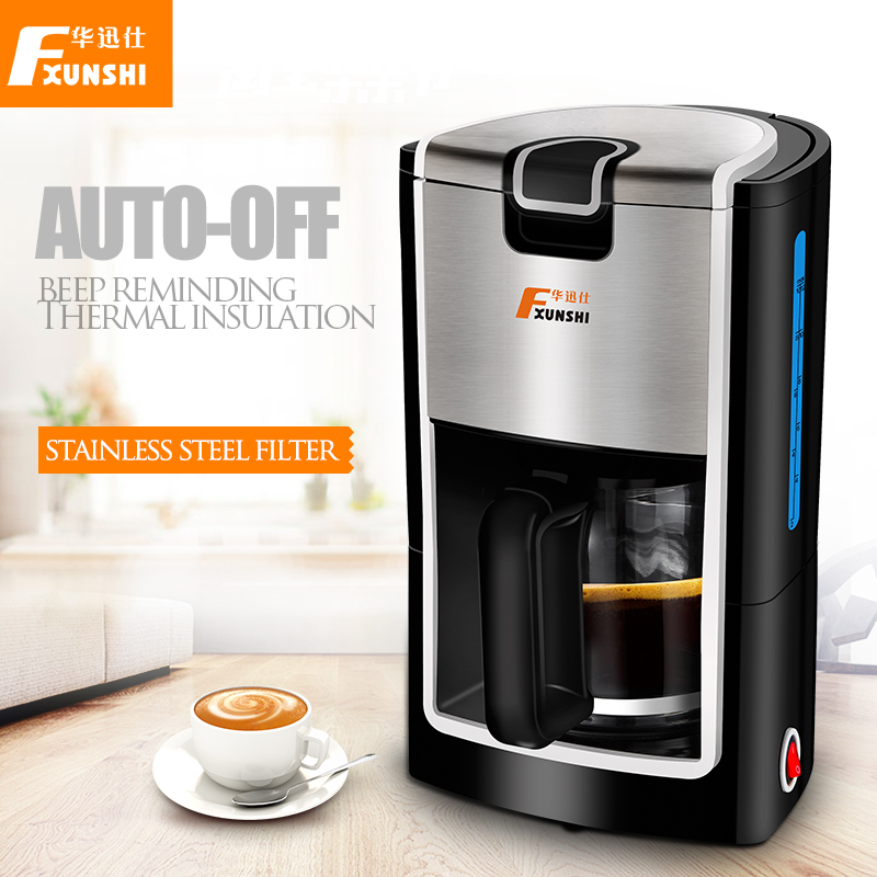 Coffee Maker Not Getting Power : Automatic drip coffee machine 1.2L 3 6 cup coffee maker thermal insulation coffee printer cafe ...