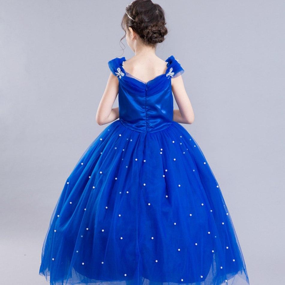 Girls Cinderella Princess Cosplay Costume (10)