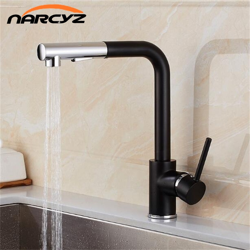 Free Shipping New Kitchen Faucets Filter Brass Chrome Crane Kitchen Water Sink Faucet Filter Vegetables Kitchen