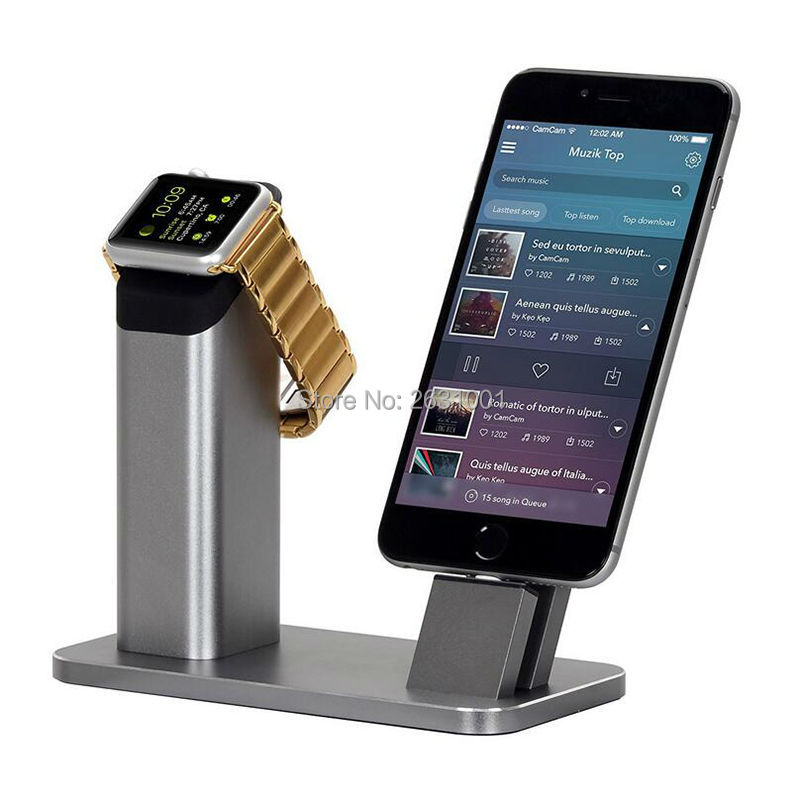 phone charge holder gray 1-2