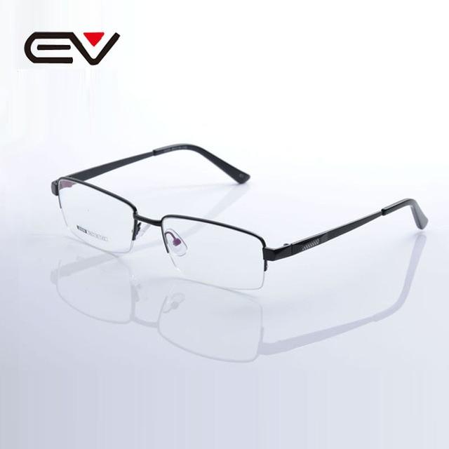 Brand Metal Glasses Frame Men Women Stainless Steel&Silicone Eye ...