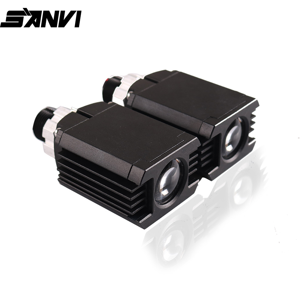 SANVI New Arrival Laser  Projector Lens Headlight  Auto High Beam Headlamp For H1 H7 H11 9005 9006 Car Light Replacement