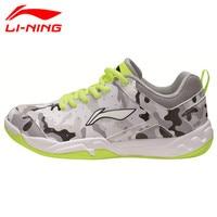 Li Ning 2017 Newest Childre Badminton Shoes Breathable Lining Athletic Sneaker Anti Slippery Sports Shoe Li