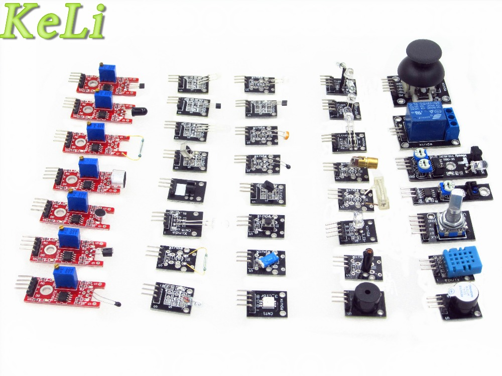 TIEGOULI 37 IN 1 SENSOR KITS HIGH QUALITY 100 new