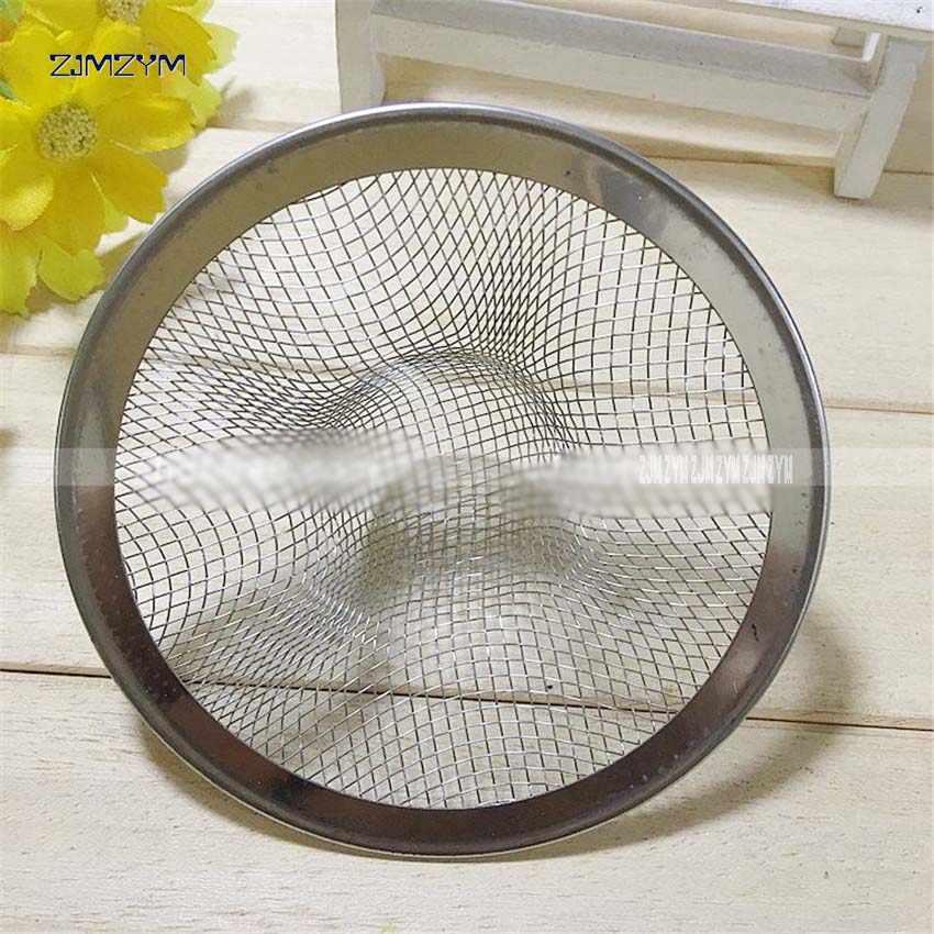 1 pc Filtro de drenagem em aço inoxidável acessórios para filtros de água da bacia de lavagem ralo da pia da cozinha vazamento net pia malha 5.3 centímetros /7.2 centímetros/9 cm/11 cm