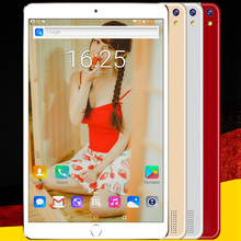 Original 10 Inch 3G Mobile Phone Call Android 7.0 Quad Core Tablet pc 4GB RAM 32GB ROM WiFi FM Bluetooth 5Mp Camera IPS Screen