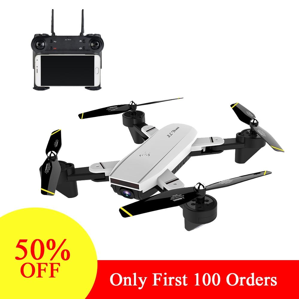 Professionelle Selfie Drohne Optische Folgen Mich RC Quadcopter mit Dual Kamera HD 720 p FPV Eders Hubschrauber VS XS809S SG700 e58