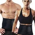 Los Hombres calientes de la Mujer Cintura Ajustable Tummy Trimmer Cinturón Quema de Grasa Shaper Adelgazamiento Ejercicio Fitness Deporte Faja Corsé de Modelado