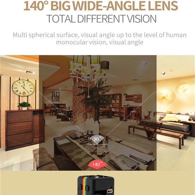 SQ11 HD mini Camera small cam 1080P Sensor Night Vision Camcorder Micro video Camera DVR DV Motion Recorder Camcorder SQ 11 SQ9 3