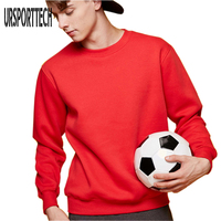 2017 New Brand Winter Mens Hoodies And Sweatshirts O Neck Long Tee Cotton Sweatshirt Men Autumn