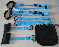 Suspension Trainer Strap Fitness Exercise Yoga Bands Belt 15PCS Free Shipping
