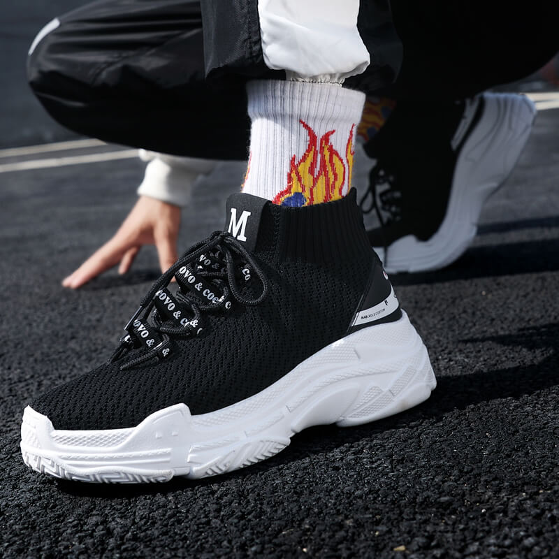 53778239 Running Shoes: Bape Shark Socks Shoes: Sneakers Man Sneakers Woman: GYM  zapatillas hombre deportiva: chaussure homme sport. Product Description