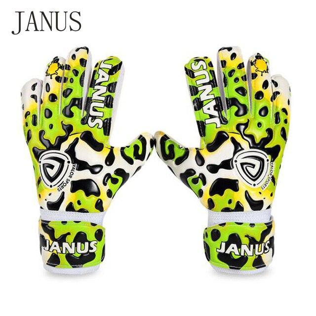 Guantes de fútbol de protección de dedo para niños de nuevo estilo Janus