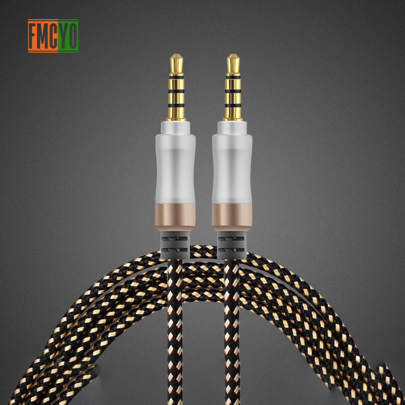 Image 4 - Jack 3.5 mm Audio Extension Cable 1.5m Dual Aux Cable for Car Computer Iphone