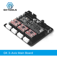 GKTOOLS, Mana 3 Axis Stepper Motor Controller Driver Board For DIY Laser Engraver support Benbox, GRBL