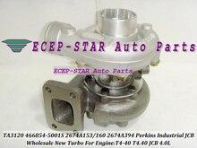 TA3120 466854-0001 466854-5001S 466854 2674A153 267A160 2674A394 2674394 Turbo For Perkin Truck Diverse T4-40 T4.40 For JCB 4.0L