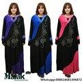 Мода Broadcloth Новое Прибытие Специальное Предложение Аппликации Взрослых Малайзии Jilbabs И Abayas Мусульманские Женщины Одеваются Цвет Женский