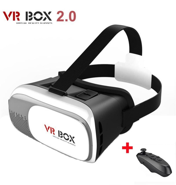 HOT Google cardboard VR BOX II 2.0 Version VR Virtual Reality 3D Glasses For Smartphone for iphone 4 4s 5 5s se 6 6splus