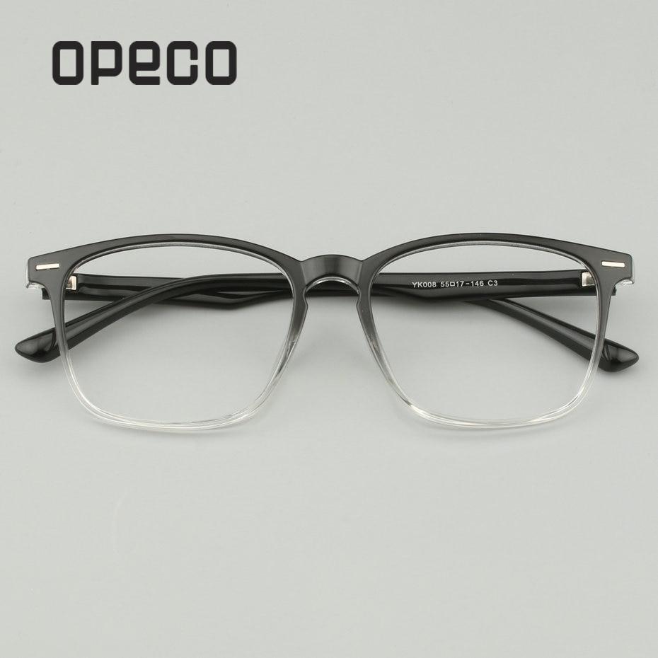 Korrektionsbrillen Herren-brillen Offen Opeco Felder Vollrand Tr90 Männer Optischen Rahmen Progressive Multifokale Photochrome Anti Blau Klare Linse Brillen Yk008 PüNktliches Timing