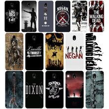 275WE The walking dead Macio Tpu Silicone Case Capa do telefone para Samsung j2 j3 j5 j7 2015 2016 2017 j330 j6 j4 j4 prime Plus 2018(China)