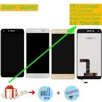 Orijinal Huawei Y6 ii Y6II kompakt LYO L01 dokunmatik LCD ekran ekran meclisi Y6II kompakt çift SIM LYO L21 LCD sayısallaştırıcı|Cep Telefonu LCD'leri|   -