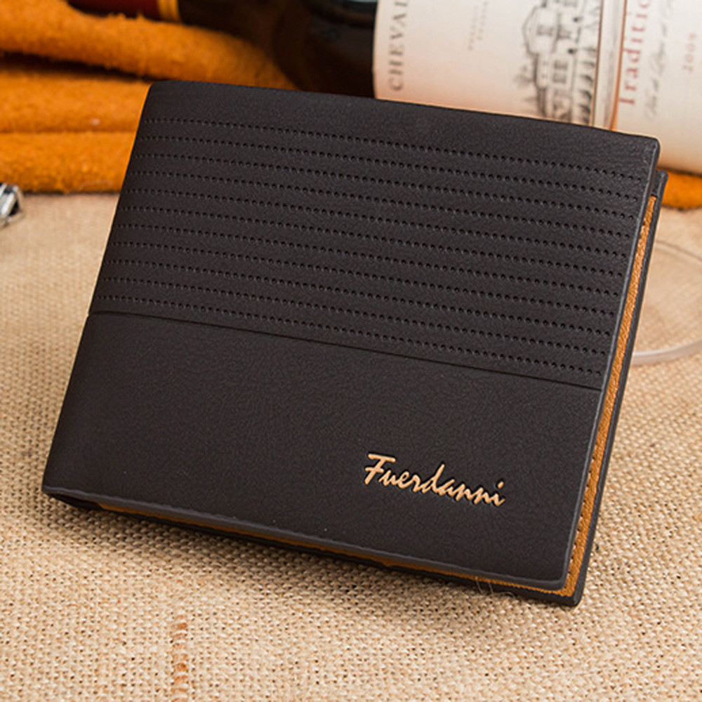 9326ddd43af3 US $4.72 |Aliexpress.com : Buy Top 2018 Vintage Men Leather Brand Luxury  Wallet Short Slim Male Purses Money Clip Credit Card Dollar Price  Portomonee ...