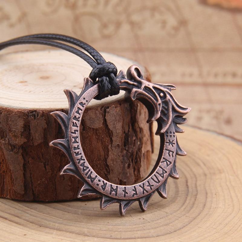Collier Dragon Viking  3